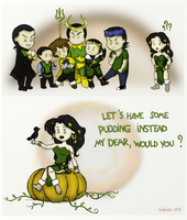 A Very Gangsta Loki Halloween by VideaVice