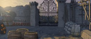 Gilead Weapon Storage gates by Rusty001