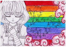 ++OUT OF THE RAINBOW COLOR by ladybluematrix