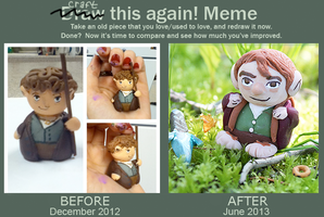 Craft This Again Bilbo Figurines by Comsical