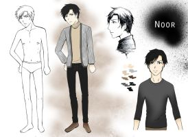 Noor -reference- by kodou-e