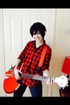 Marshall lee cosplay AT by xXCaLcUlAtEdRiSkXx