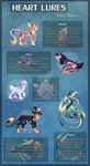 [Heart Lures] Lure Type Sheet by Dracobby