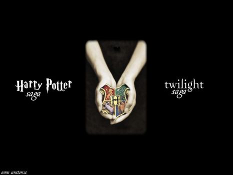 Harry Potter AND twilight by Anathalia