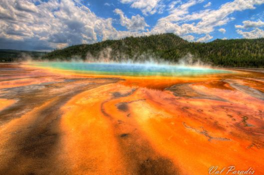 Prismatic Lake by Flameholder