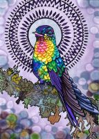 Holistic Hummingbird by PaintMyWorldRainbow