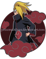 Deidara Shirt design by PrincessKilvas