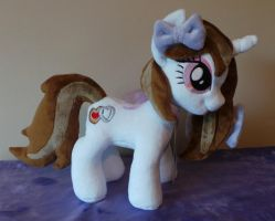 Cookie Cutter OC Plush pony by Pinkamoone
