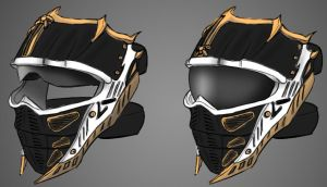 legion paintball mask by PMCKai86
