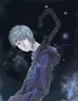 ROTG. Jack Frost by greyeille
