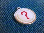Question mark pendant by Pia-CZ