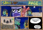 ENG SpongeWolf part 1. page 26 END PART 1. by wolfmarian