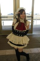 Oni-con 2011 Maid cafe by haleliwil