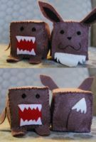 Cubes: Evee and Domo by HelloBatty