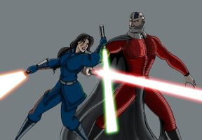 KOTOR- The Final Battle by Cindrollic