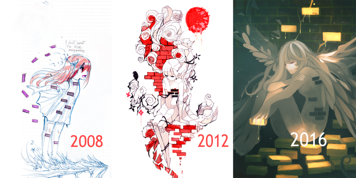 Breakdown :2008 VS 2012 VS 2016 by NanoMortis