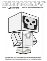 Cubeecraft - Vashta Nerada by CyberDrone
