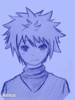 Killua Blue by cryzuz