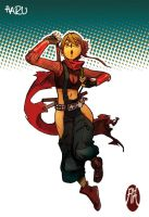 characters - Haru (ninja outfit) by BistroD