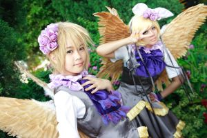 Vocaloid Uta Monogatari - Rin Len by Xeno-Photography
