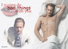 Eric Northman - True Blood by Mimozami