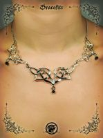 Elven necklace handmade elf necklace by Dracolite