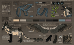 Ashkore - Character reference sheet by Nereiix