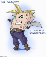 Cloud Bob Squarepants by shinga