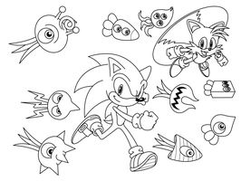 Sonic Colors Uncolored by sonictopfan