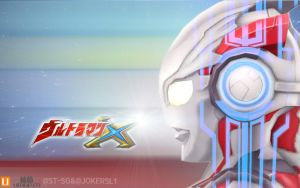 ultraman x 3d model by JOKERSL1