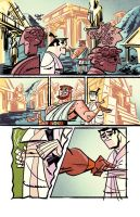 Samurai Jack issue 3 pg5 by dcjosh