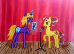 Pony Karaoke Evening [Arttrade with AdriaXwolf] by WolfsGesang