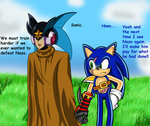 AQ: Neronel and Sonic by ZeroR102