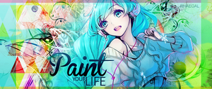 Paint your life by romansalad