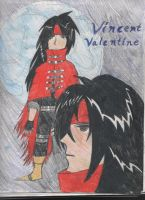 Vincent Valentine - Colored by ravenqueen22