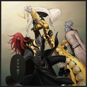 D.Gray-man: The Critical 5 by abcdefghijkL0L