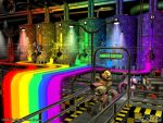 In the Rainbow Factory by PaSt1978