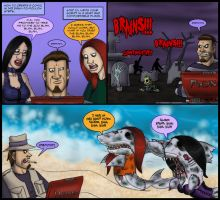 VW: The Zombie Shark Invasion by GrymmBadger