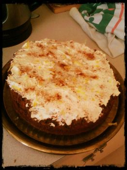 2nd Try at a Carrot Cake00 by Keruki