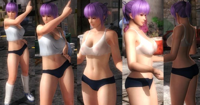 Ayane bloomers tranparent shirt by funnybunny666