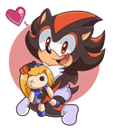 Baby Shadow the Hedgehog by Angie--Wolf