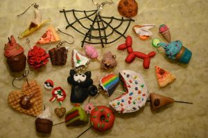 My polymer clay creations by trollwaffle