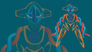 Deoxys Wallpaper by NewtonianNocturn