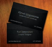 My business card by Yurik86
