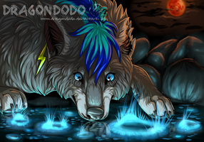 :CO: Bloodmoon (Completed YCH) by DragonDodo