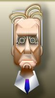 Michael Douglas Geobetrical by fun-caricatures