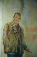Dr Who, Eccleston-Unfinished2 by PaulSkelton