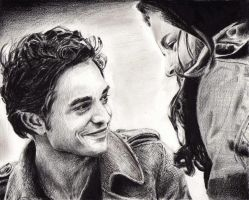 Ed and  Bella by Fayerin