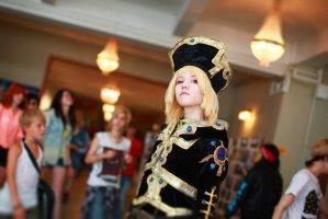 Ion Fortuna . Trinity Blood. Anicon 2013 (2) by Lyumos