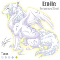 Etoile Reference Sheet by linai